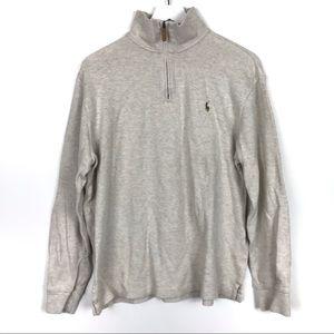 Polo RALPH LAUREN Men's Sweater 1/4 ZIP Estate Rib